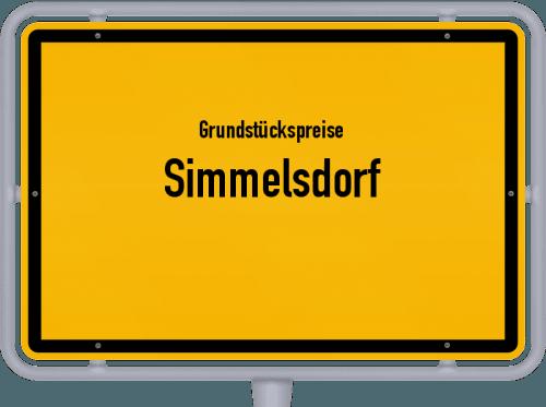 Grundstückspreise Simmelsdorf 2019