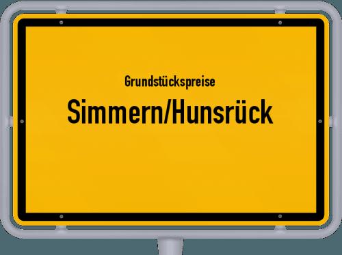 Grundstückspreise Simmern/Hunsrück 2019