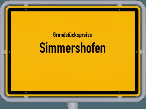 Grundstückspreise Simmershofen 2019