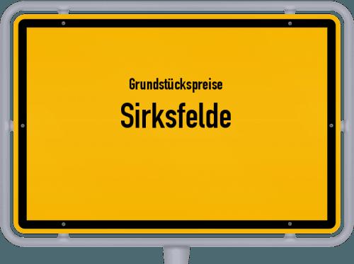 Grundstückspreise Sirksfelde 2021