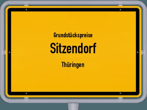 Grundstückspreise Sitzendorf (Thüringen) 2019