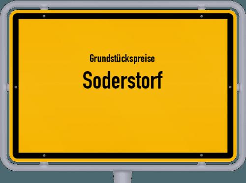 Grundstückspreise Soderstorf 2021