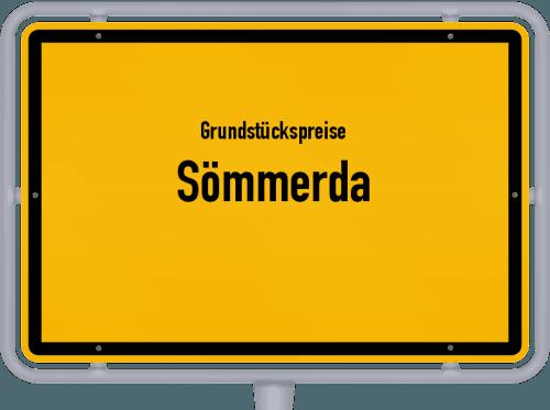 Grundstückspreise Sömmerda 2019