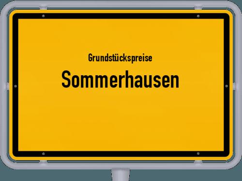Grundstückspreise Sommerhausen 2019