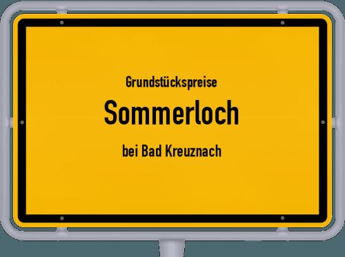 Grundstückspreise Sommerloch (bei Bad Kreuznach) 2019