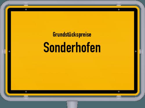 Grundstückspreise Sonderhofen 2019