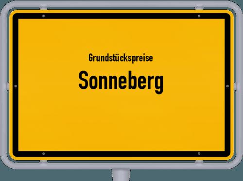 Grundstückspreise Sonneberg 2019