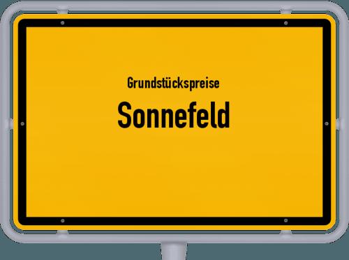 Grundstückspreise Sonnefeld 2019