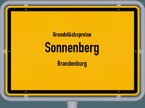 Grundstückspreise Sonnenberg (Brandenburg) 2021