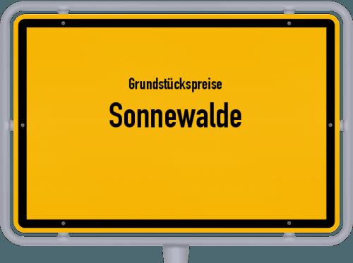 Grundstückspreise Sonnewalde 2021