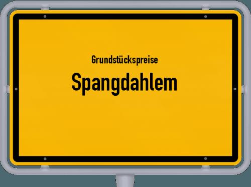 Grundstückspreise Spangdahlem 2019