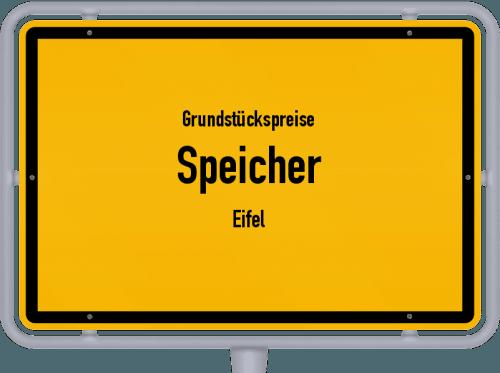 Grundstückspreise Speicher (Eifel) 2019