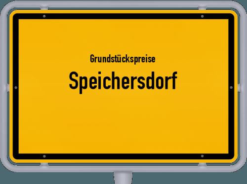 Grundstückspreise Speichersdorf 2019