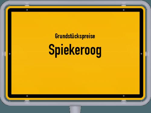 Grundstückspreise Spiekeroog 2019