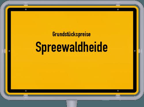 Grundstückspreise Spreewaldheide 2021