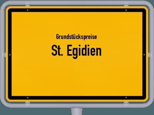 Grundstückspreise St. Egidien 2019
