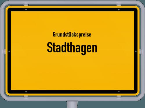 Grundstückspreise Stadthagen 2021