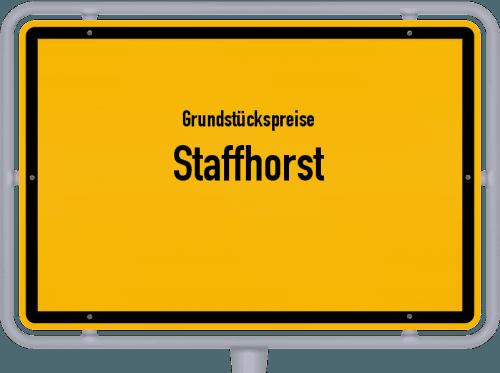 Grundstückspreise Staffhorst 2019