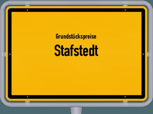 Grundstückspreise Stafstedt 2021
