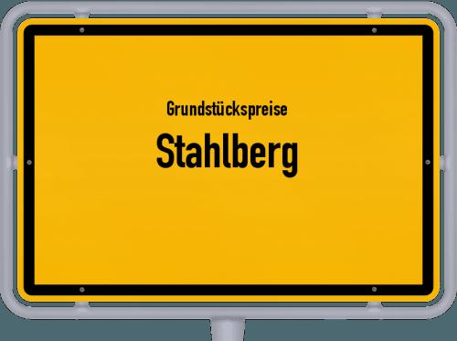 Grundstückspreise Stahlberg 2019