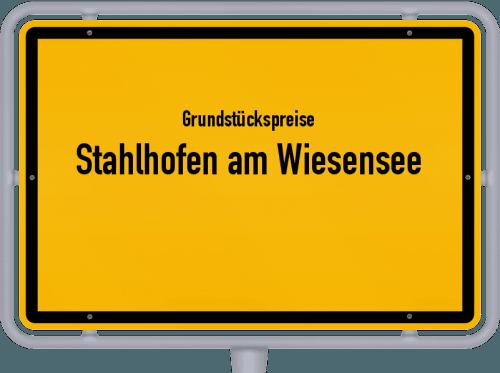 Grundstückspreise Stahlhofen am Wiesensee 2019