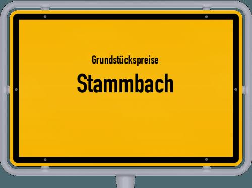 Grundstückspreise Stammbach 2019