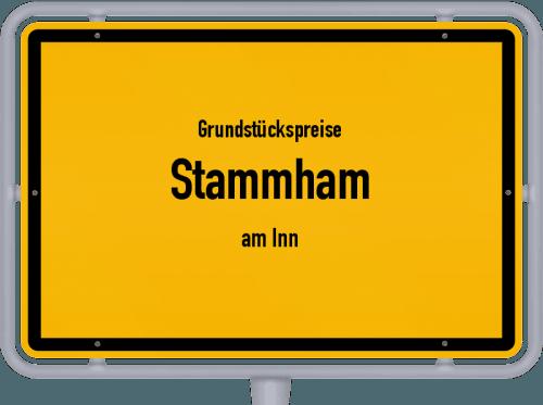 Grundstückspreise Stammham (am Inn) 2019