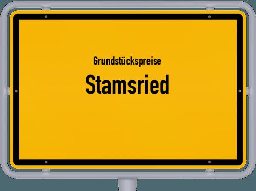 Grundstückspreise Stamsried 2019
