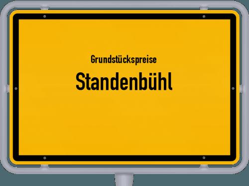 Grundstückspreise Standenbühl 2019