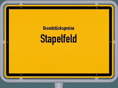 Grundstückspreise Stapelfeld 2021