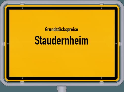 Grundstückspreise Staudernheim 2019