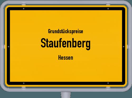 Grundstückspreise Staufenberg (Hessen) 2018