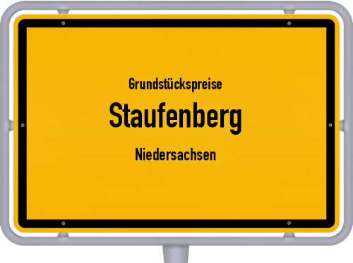 Grundstückspreise Staufenberg (Niedersachsen) 2021