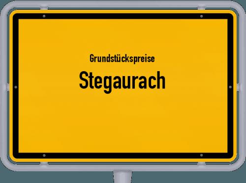Grundstückspreise Stegaurach 2019