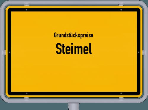 Grundstückspreise Steimel 2019