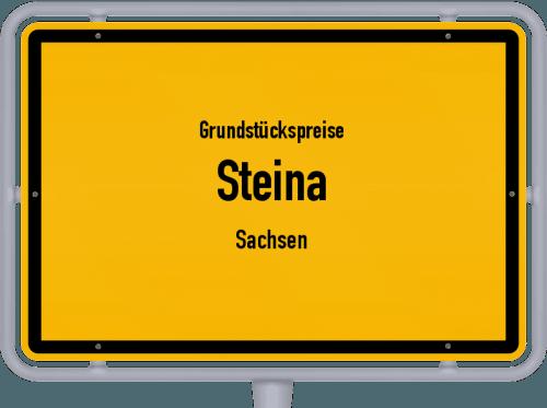 Grundstückspreise Steina (Sachsen) 2019