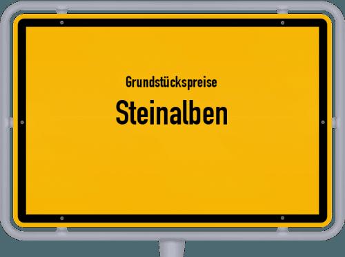 Grundstückspreise Steinalben 2019
