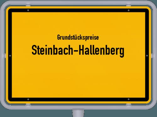 Grundstückspreise Steinbach-Hallenberg 2019