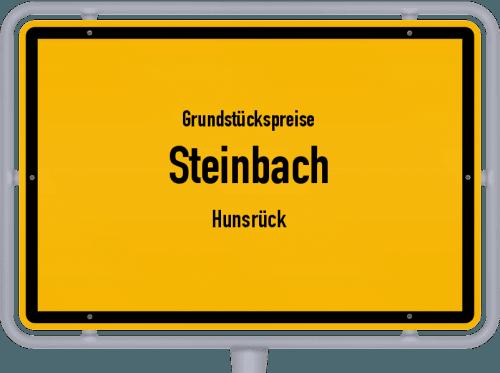 Grundstückspreise Steinbach (Hunsrück) 2019