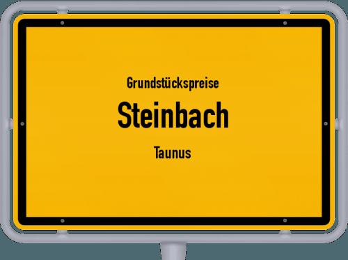 Grundstückspreise Steinbach (Taunus) 2018