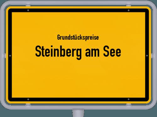 Grundstückspreise Steinberg am See 2021