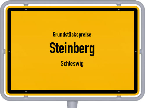 Grundstückspreise Steinberg (Schleswig) 2021