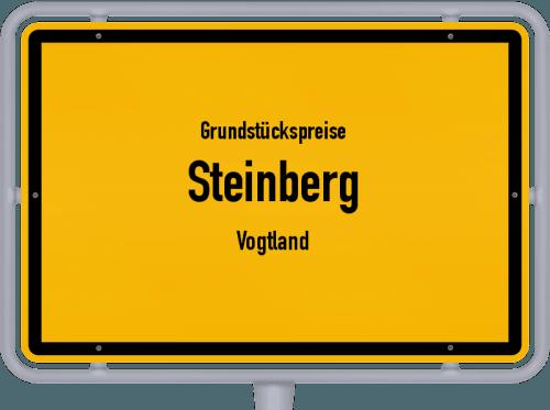 Grundstückspreise Steinberg (Vogtland) 2019