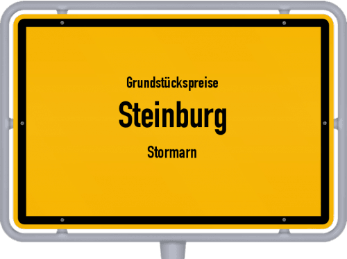 Grundstückspreise Steinburg (Stormarn) 2021