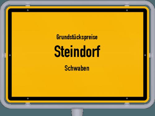 Grundstückspreise Steindorf (Schwaben) 2019