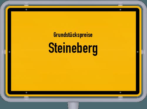 Grundstückspreise Steineberg 2019