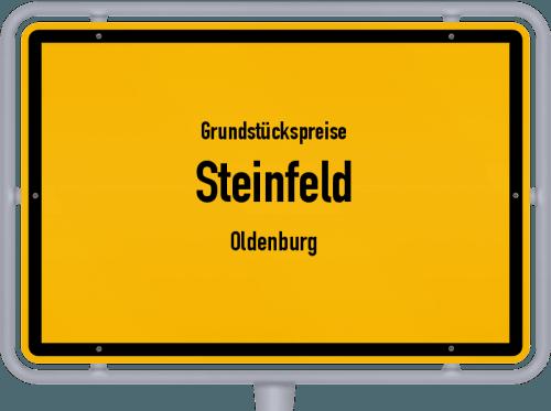 Grundstückspreise Steinfeld (Oldenburg) 2019