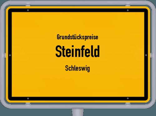 Grundstückspreise Steinfeld (Schleswig) 2021