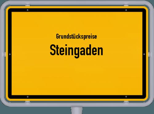 Grundstückspreise Steingaden 2019