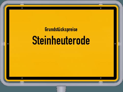 Grundstückspreise Steinheuterode 2019